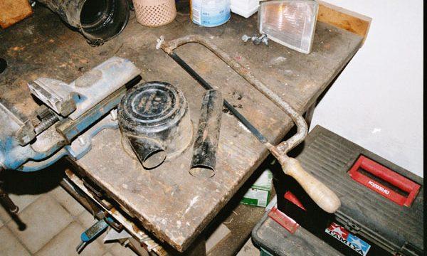 Stahlpappe Zusammenbau 032
