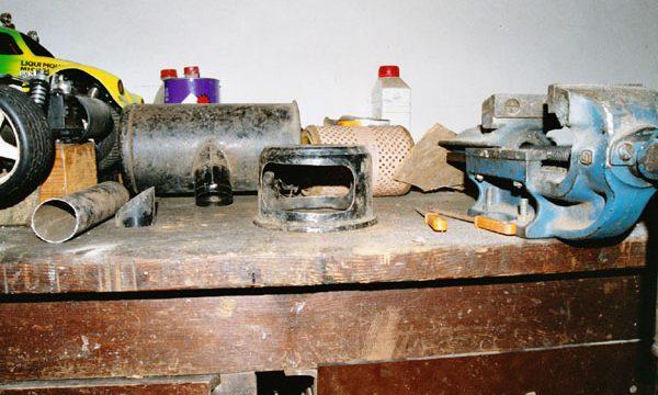 Stahlpappe Zusammenbau 034