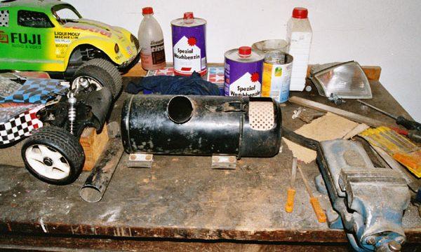 Stahlpappe Zusammenbau 035