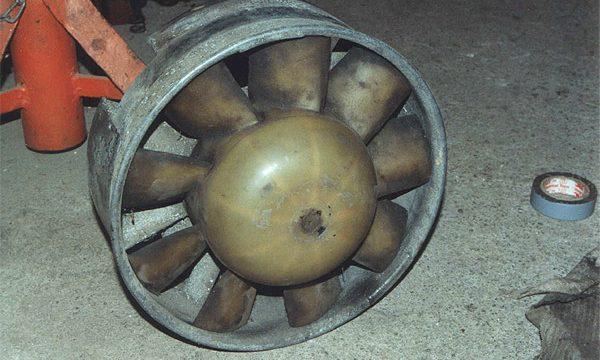 Stahlpappe Zusammenbau 055