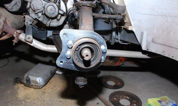Umbau Scheibenbremse Vorderachse Trabant 125