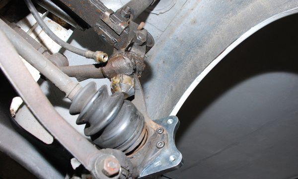 Umbau Scheibenbremse Vorderachse Trabant 126